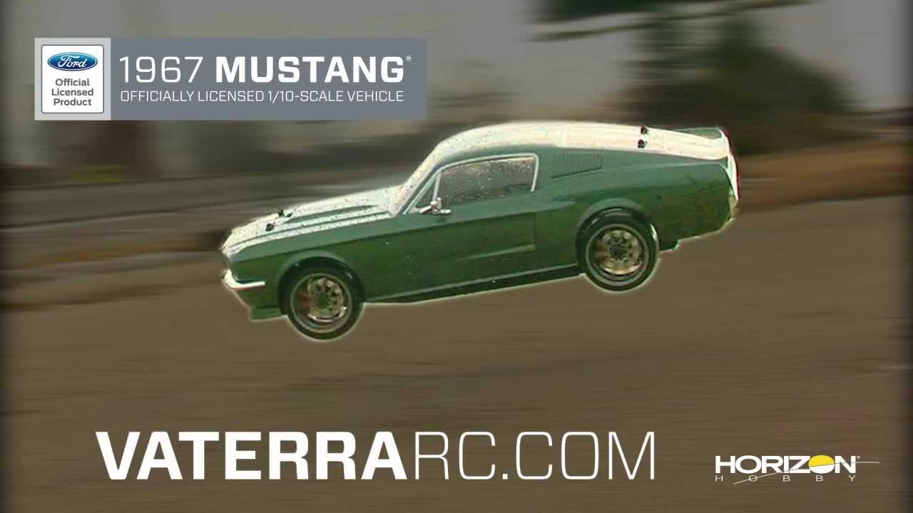 1967 ford mustang v100 s 1 10th rtr by vaterra