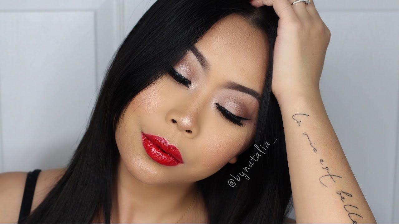 Hollywood Glam Eye Makeup Tutorial - ReelBeautyxox - YouTube   Hollywood Glam Eye Makeup