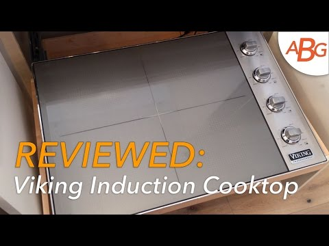 VIDEO REVIEW: Viking Induction Cooktop VIC5304BST   Next Generation  Cooktops For 2016