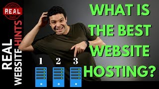What is the best website hosting and best WordPress hosting? Top 3 Hosting Review of 2018