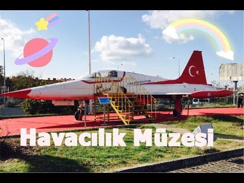 Havacılık Müzesi - Yeşilköy/ İst - Vlog Kasım 2017