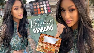 Get Ready using NEW products | Holiday Party Makeup 2019