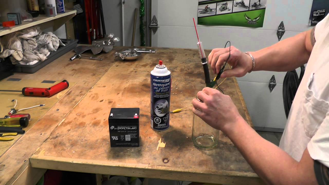 medium resolution of snowmobile arctic cat m8 injector cleaning