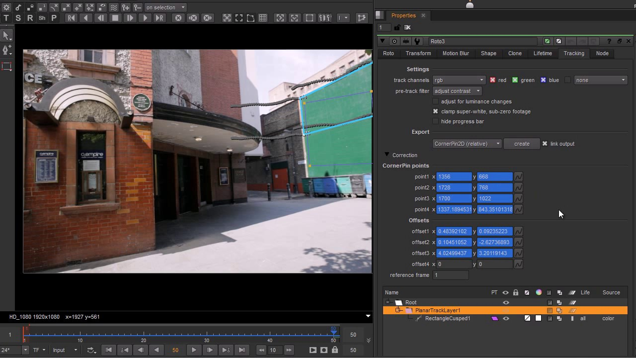 Nuke 9 0 | Planar Tracker: Escape Studios