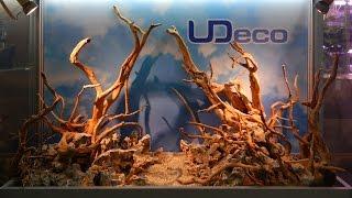 Создание композиции из декораций UDeco для оформления аквариумов и террариумов