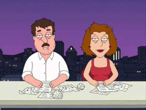 Family Guy - High Tom & Dianne with Ollie