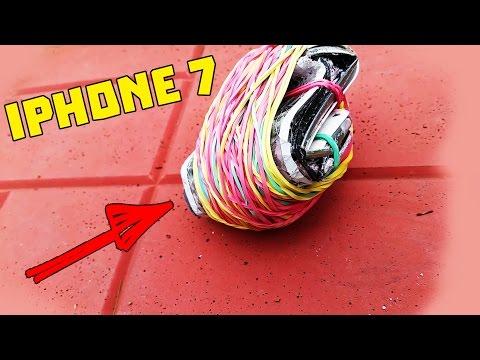 ВЗРЫВАЕМ IPhone 7 РЕЗИНКАМИ! ШОКИРУЮЩИЙ ЧЕЛЛЕНДЖ!