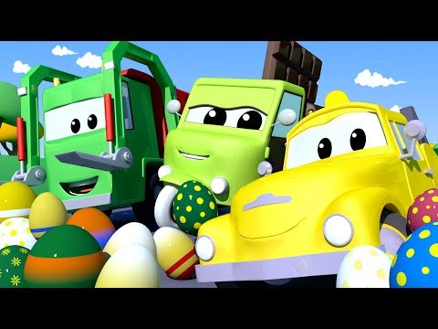 Car Patrol -  Easter day : The egg theft - Car City ! Police Cars and fire Trucks for kids