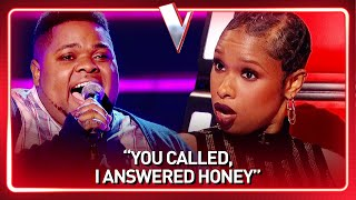 Download CHURCH SINGER blows coach Jennifer Hudson away with incredible HIGH NOTES | Journey #134