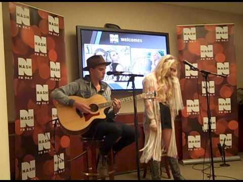 "RaeLynn Performance At Nash FM "" Up Close & Country """
