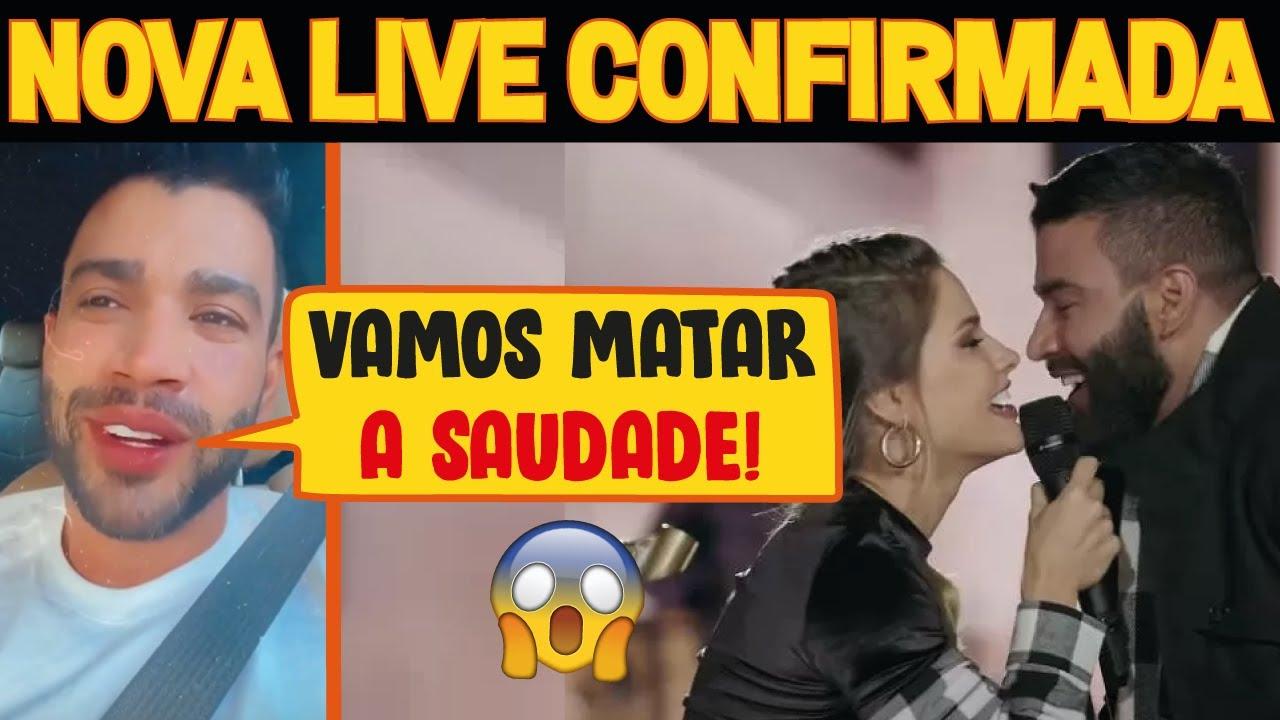 Gusttavo Lima Anuncia Nova Live com Surpresas