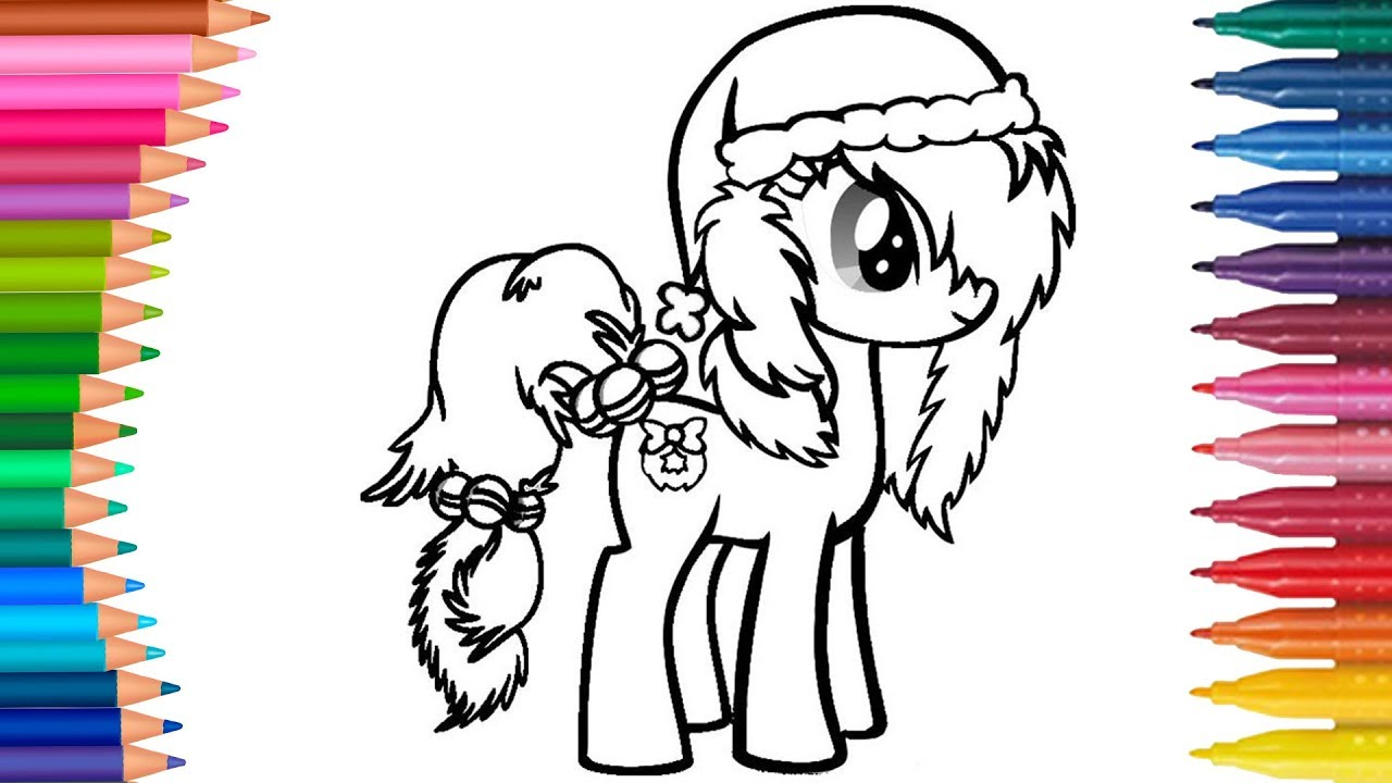Yilbaşi Pony Boyama Nasıl Yapılır Nasıl çizilir Boyama Ve Resim