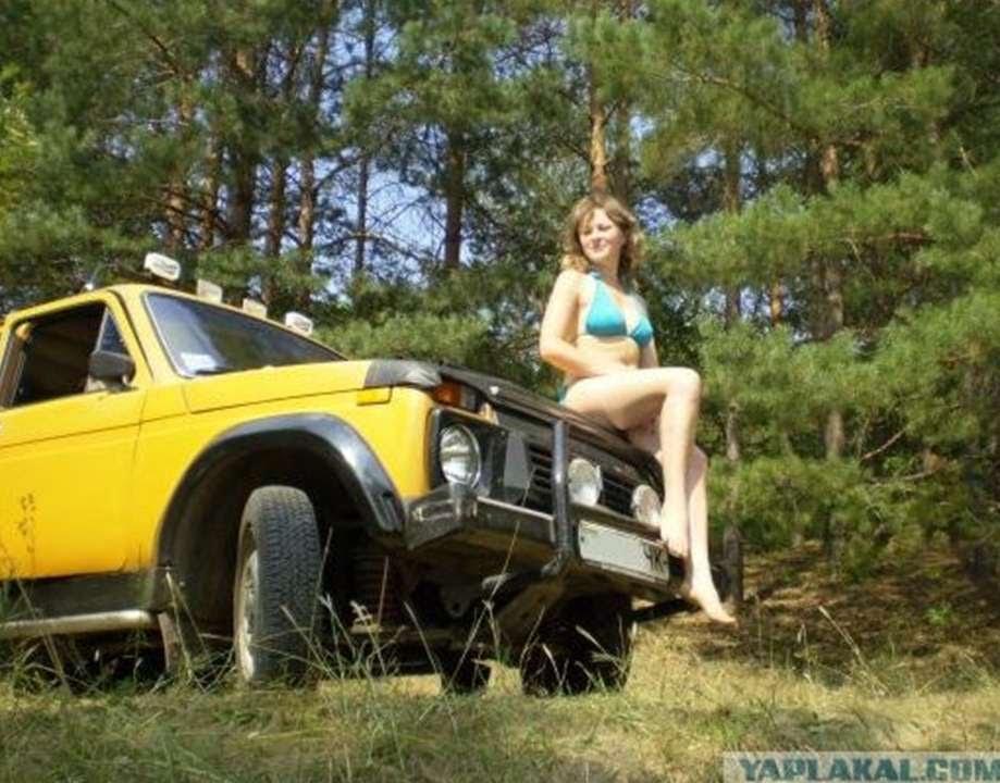 76 Girls Amp Lada 4x4 Niva 2014 Russian Auto Tuning
