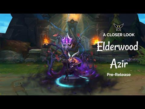 Elderwood Azir Epic Skin (Pre-Release)