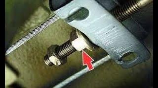Как подтянуть или ослабить ручник на ВАЗ 2115,2114,2113,2199,2109,2108
