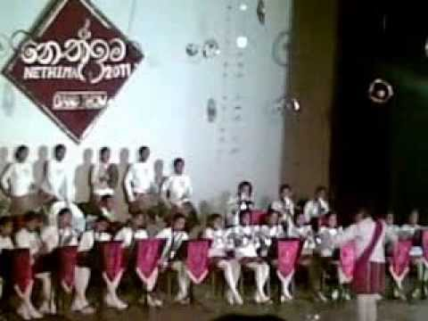 Senior Brass Band Of Pushpadana Girls College Kandy