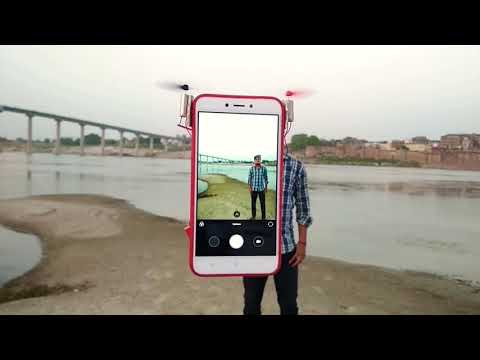 How to Amazing Make Mobile Drone Phone 2018