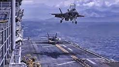 MV-22Bs & F-35Bs • Flight Ops On USS Wasp (April 2019)