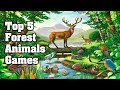 Top 5 Forest Animals Games Gameplay Video Android/iOS