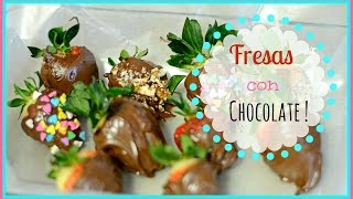 FRESAS CON CHOCOLATE ! 😍🍓 .Priscila Thumbnail