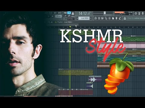 How To Make EDM Kshmr Style - FL Studio 12