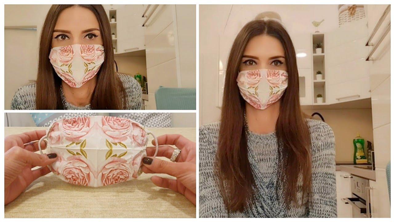 CORONA vlog | Najjednostavnija maska za lice ikad!