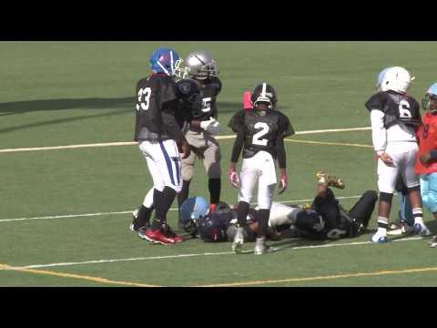 11.25.17 💥11U FBU Football - Mississippi vs. South Georgia - 6th Grade Southeast Regional Round 1