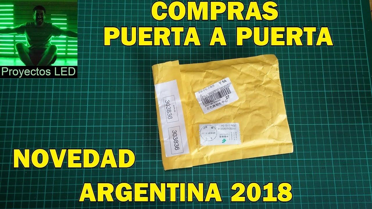 Novedad En Compras En El Exterior Puerta A Puerta Nuevo Regimen Argentina 2018 Youtube