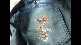 Customização em Calça Jeans