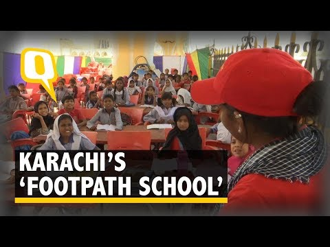 Karachi's 'Footpath School' is Giving Wings to Innocent Dreams | The Quint