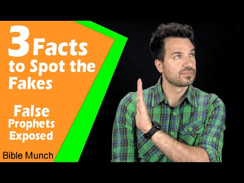 3 Facts To Spot The Fakes: False Prophets Exposed | Jeremiah 27:14-15 Devotional | Bible Study
