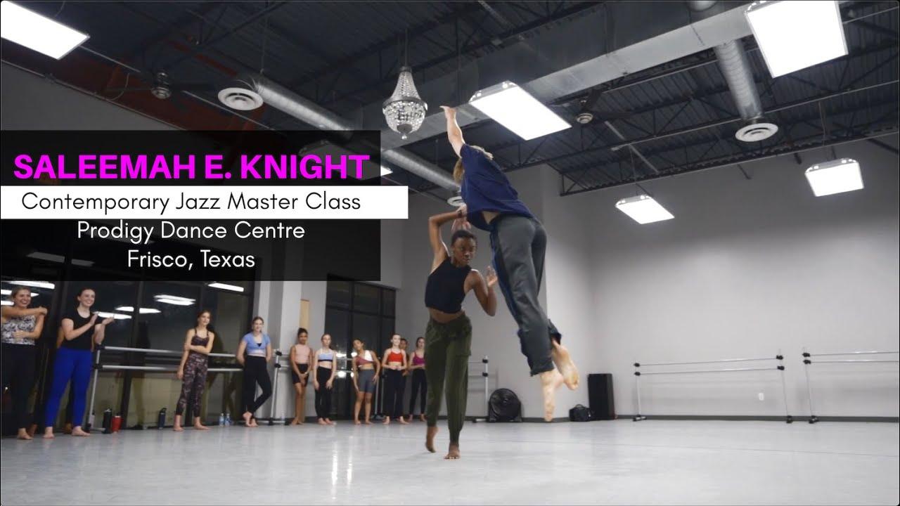 Download Saleemah E. Knight | Contemporary Jazz Master Class | Prodigy Dance Centre