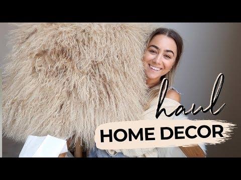 HOME DECOR HAUL! Julia Havens