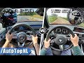 Mercedes A Class A250 2019 vs 2019 BMW 1 Series 125i | ACCELERATION TOP SPEED & POV by AutoTopNL