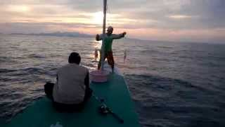 Mancing Mafia Pulau Bawean red snapper double strike fishing