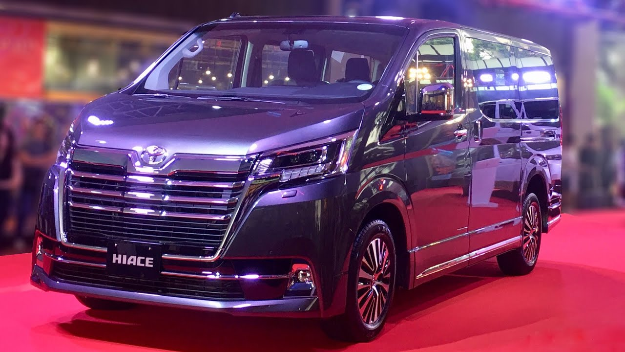 All-New Toyota Hiace Super Grandia Launch