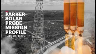 Delta IV Heavy Parker Solar Probe Mission Profile