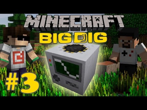Minecraft: Big Dig #3 - QUARRY!