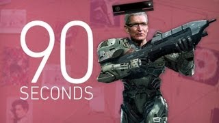 Xbox One, 'Halo,' and Apple - 90 Seconds on The Verge