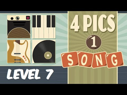 4 Pics 1 Song  Level 7 Answers 116 Soluciones Nivel 7