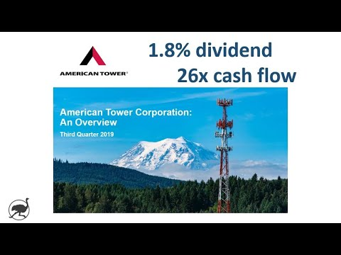 Analysis of American Tower $AMT - Stock Investment Research