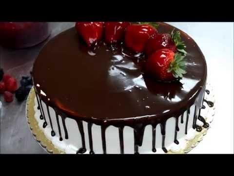 Украшение торта. Как быстро украсить торт для именинника ...