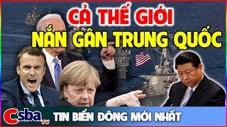 Căng Thẳng Tột Độ, Anh Pháp Đức Mỹ Nhật... Cùng Đoàn Kết HỦY DIỆT TRUNG QUỐC Trên Biển Đông