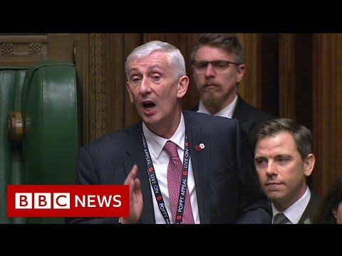 UK Election 2019: House of Commons elects new Speaker - BBC News