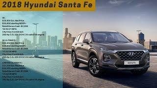 2018 Hyundai Santa Fe Review: First Look at Geneva Motor Show