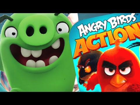 Brand New Piggy Island On Angry Birds Action -Angry Birds Movie Game Piggy Island Levels 7 - 12(IOS)
