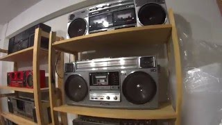 Amazin Boombox Ghettoblaster collection Shop in the world. In Dubby Mad, Tokyo Japan