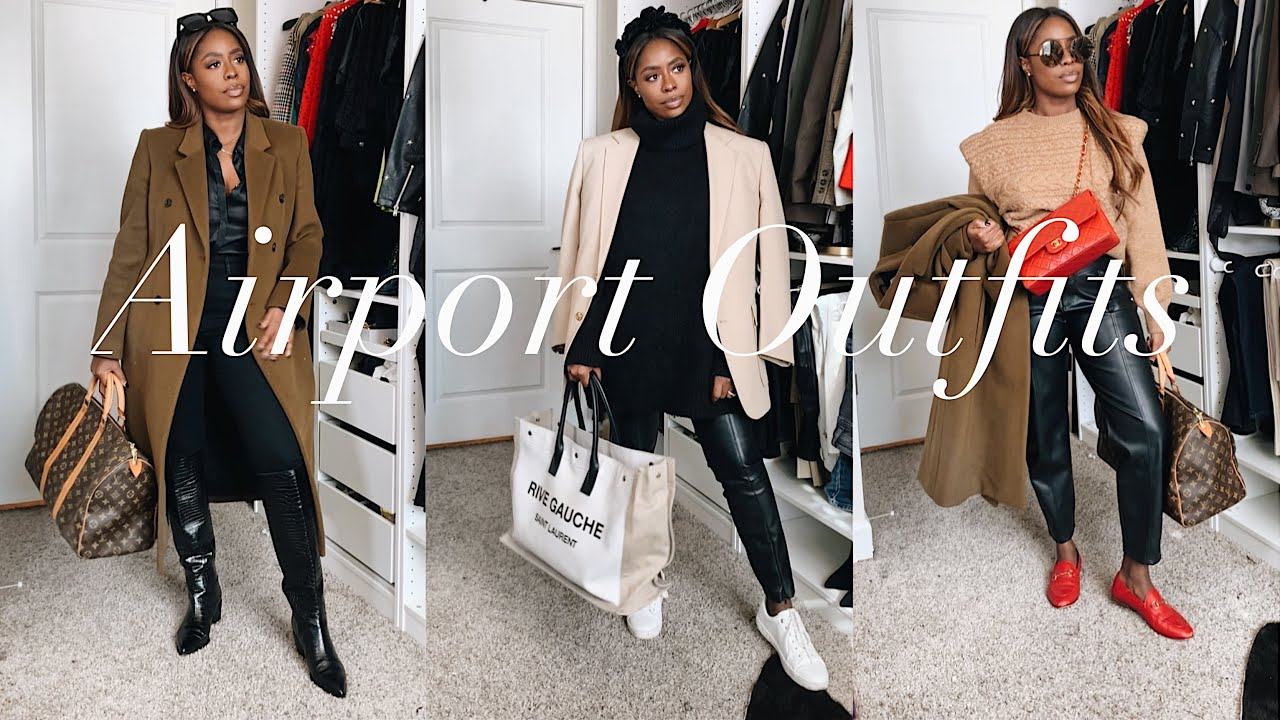 [VIDEO] - AIRPORT OUTFITS WINTER EDITION | HIGHLOWLUXXE 3