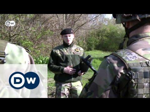 "A paramilitary unit ""protects"" Slovakia | Focus on Europe"
