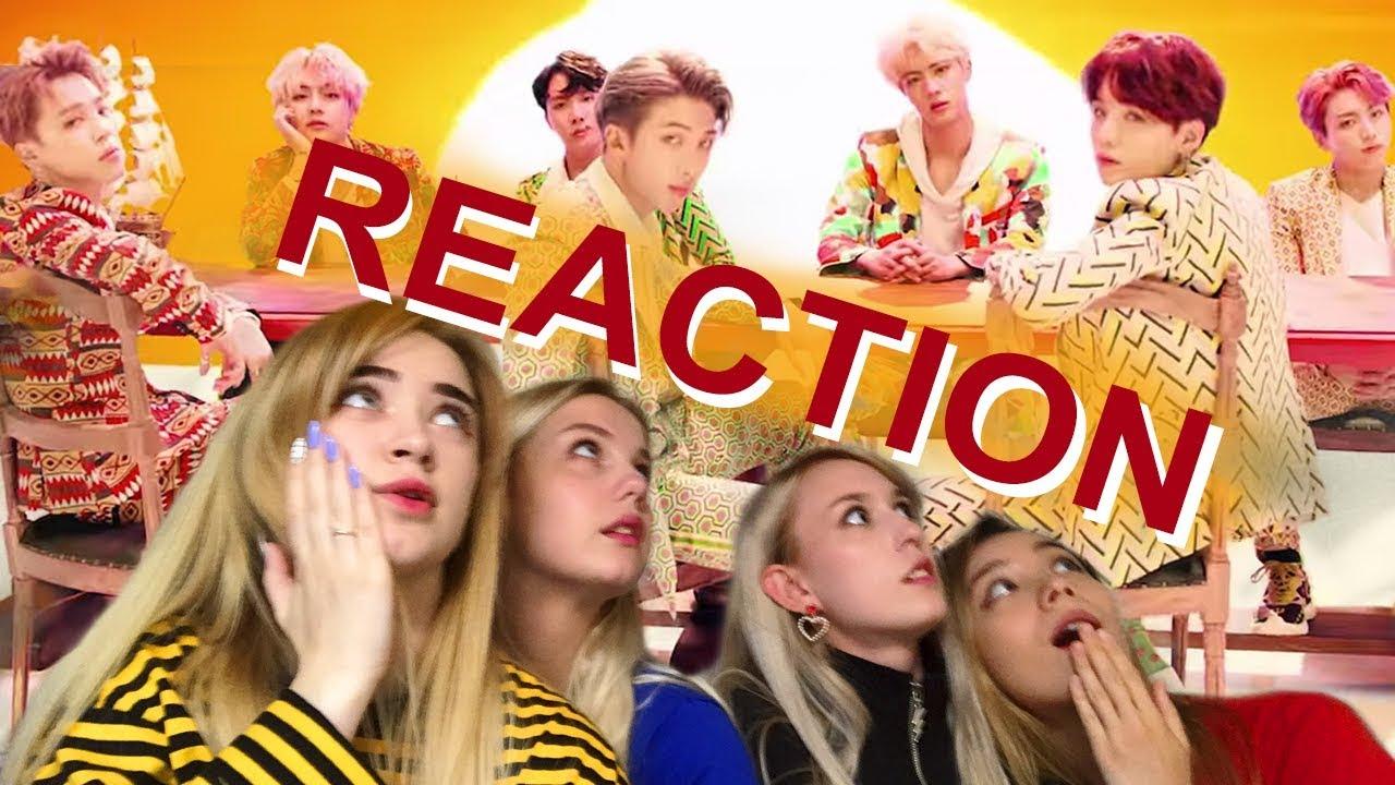 Bts Idol Mv Reaction By Upbeat